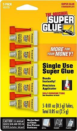 Super Glue Super Glue 15175-12 Single-Use Minis, 60-Pack(