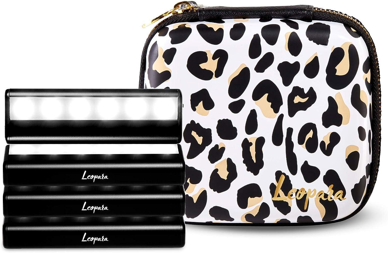 LEOPARA Makeup Lighting Indefinitely System Portable Vanity Set Lights LED Ranking TOP18