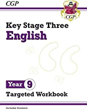 New KS3 English Year 9 Targeted Workbook (with answers)
