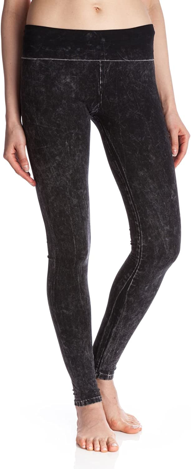 T Party Mineral Washed Foldover Leggings
