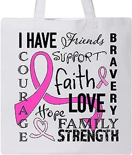 Inktastic I Have. Inspirational Words for Breast Cancer Survivors Tote Bag