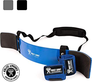 Heavy Duty Arm Blaster Pro + Bonus Wrist Wraps Support   Isolate Muscles for Maximum Strength. Perfect Bicep Curl Support for faster results. Biceps, Tricep & Upper Body Workout for arms