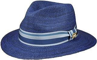 s.Oliver Herren Panamahut 97.804.92.2150 Blau 59 Blue Melange 59w1