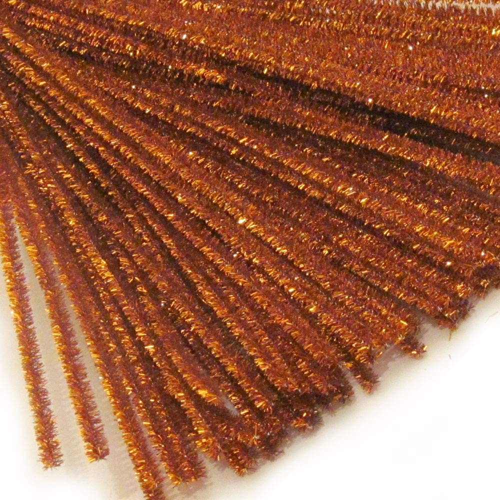 The Crafts Outlet Chenille Sparkly Max 46% OFF 20-in Pipe Cleaner Stems service 5