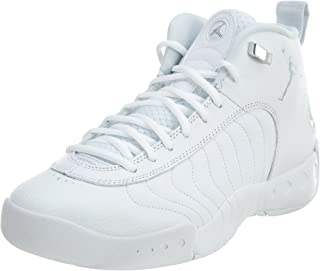Jordan Nike Men's Jumpman Pro White/Pure/Platinum Basketball Shoe