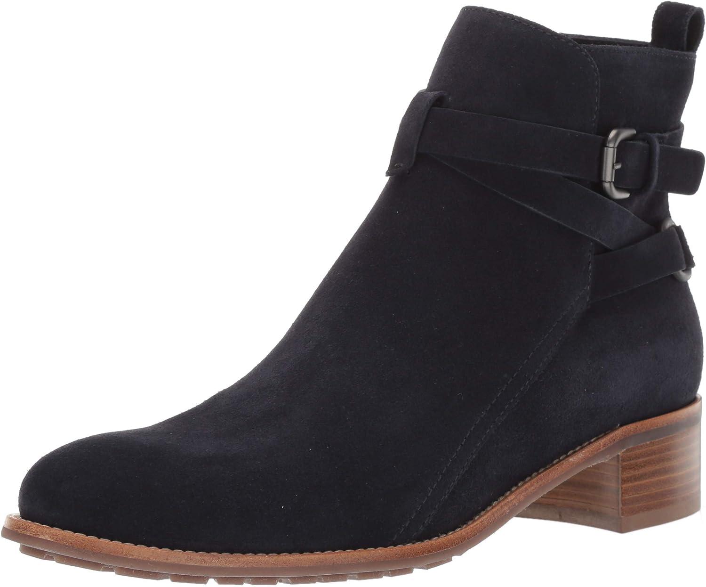 Aquatalia Womens Odetta Suede Ankle Boot