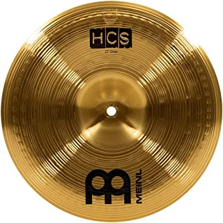 """Meinl 12"""" China Cymbal – HCS Traditional Finish Brass for Drum Set, Made In Germany, 2-YEAR WARRANTY (HCS12CH)"""