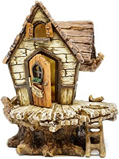 Miniature Fairy Garden Fairy Fort With Ladder