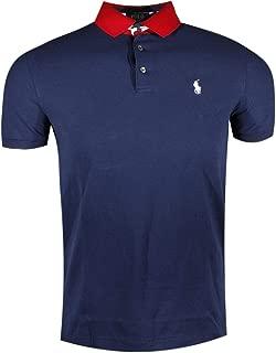 Men's Custom Slim Fit Colored Collar Polo Shirt