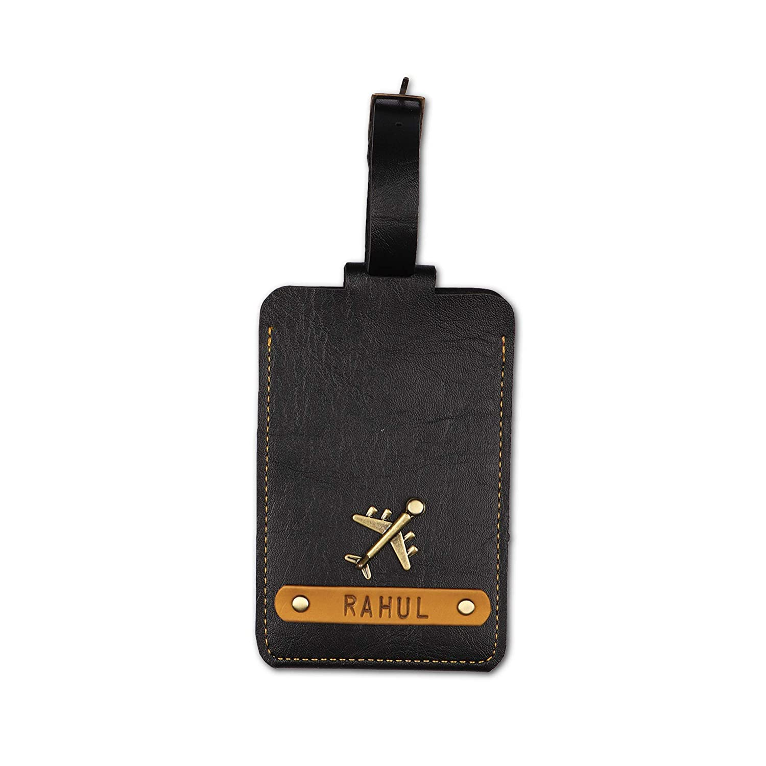 The Recommendation Junket Personalized Custom Luggage Tag Leat Sales results No. 1 With ID 7 Color