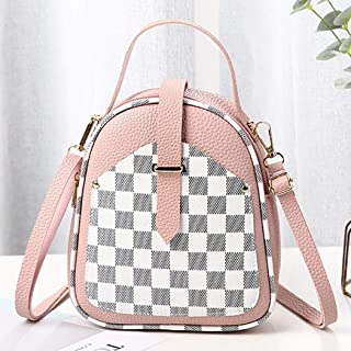 New Fashion Women Plaids Backpack Bag for Daily and Travel Use Backpacks