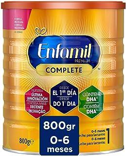 Enfamil Premium Complete 1 - Leche Infantil para Lactantes Bebés de 0 a 6 Meses de Edad, 800 gr