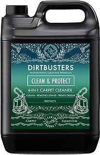 Dirtbusters Nettoyant Désodorisant Professionnel Concentré 4 en 1 pour Tapis/Tissu, Protège et Neutralise les Odeurs - Sha...