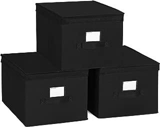 Best black storage boxes with lids Reviews