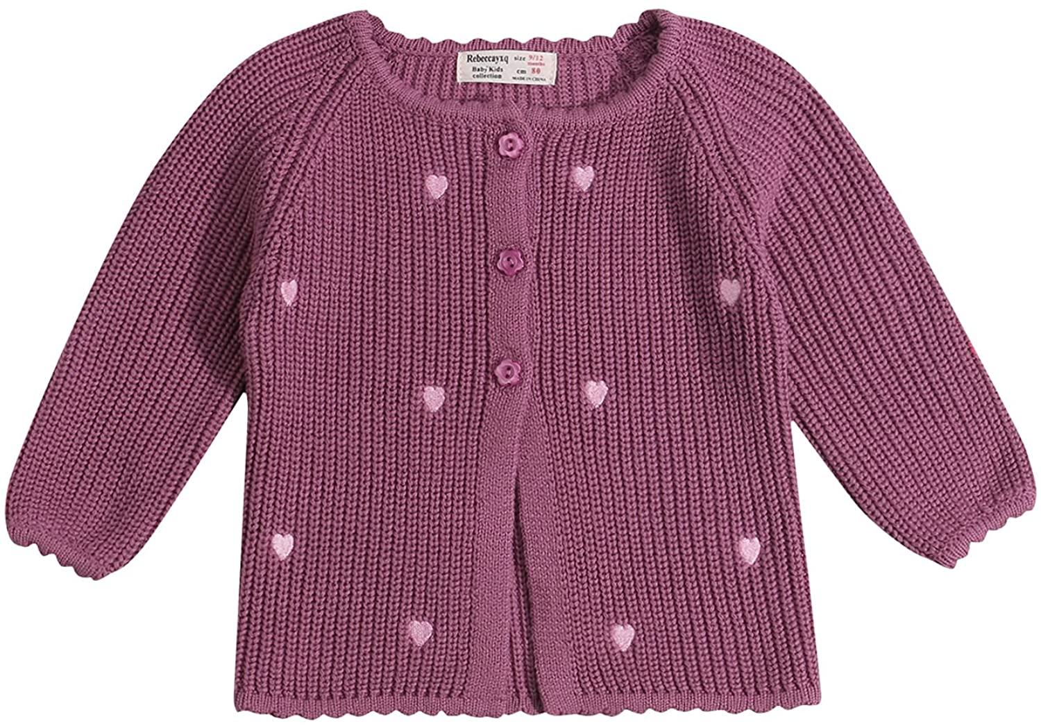 Toddler Baby Girl Fall Winter Large-scale Complete Free Shipping sale Sweater Kids Printed Knitted Heart