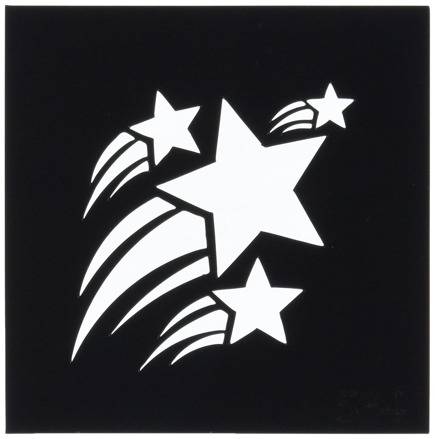 権利を与える権限マラドロイトボディステンシル #0584