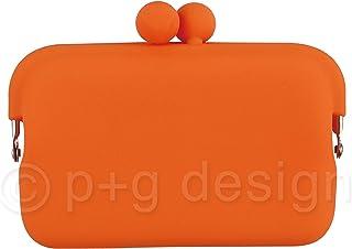 ピージーデザイン 装飾雑貨(ファッション小物) オレンジ 商品サイズ:W11.4×H8.5×D2.5 PG-31508
