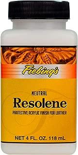Fiebing's Acrylic Resolene Leather Finish Protectant - 4 Ounces