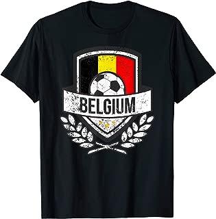 Belgium Flag Soccer Shirt Belgium Football 2018 Jersey