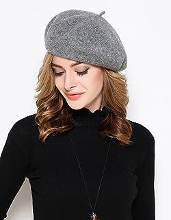 蒂芙莎 贝雷帽秋冬季画家帽蓓蕾帽帽子羊毛帽子女士八角帽