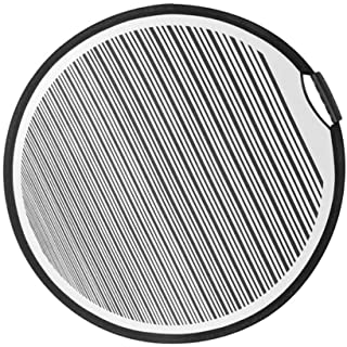 80cm Circular Striped Flexible Foldable PDR Lined Light Reflector Board Dent Panel Portable Designed for Car Vehicle Door ...