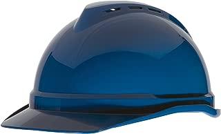 MSA V-Gard 500 Vented 4 Point Hard Hat (Blue)