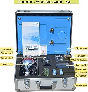 New SK1250 Window Film Presentation Kit demonstration sales tools demo IR UV rejection with infrared lamp ultraviolet power meter