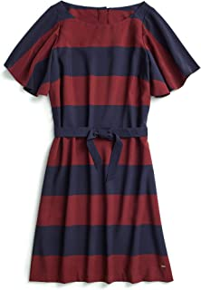 Tommy Hilfiger Women's Adaptive Maxi Dress with Magnetic Buttons