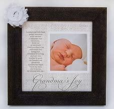 Grandma's Joy Picture Frame with Poetry - Barnwood
