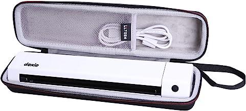 LTGEM EVA Hard Storage Case for Doxie Go SE Scanner or Brother DS-640 DS-740D - The Intuitive Portable Scanner