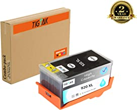 TigTak 1 Pack Black Replacement for HP 920 Compitable Ink Cartridge for HP OfficeJet 6000, 6000se, 6000 Wide Format, 6000 Wireless, 6500 All in one