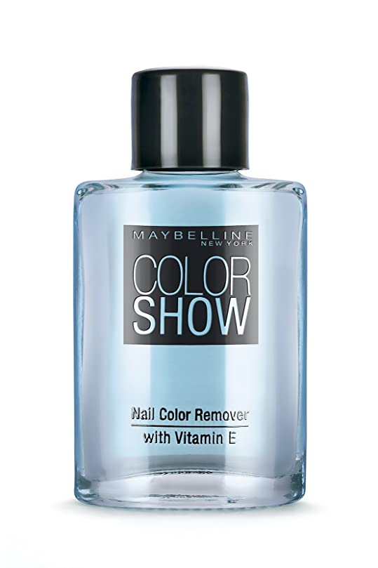 下品欠伸進行中Maybelline New York Color Show Nail Paint Remover, 30ml