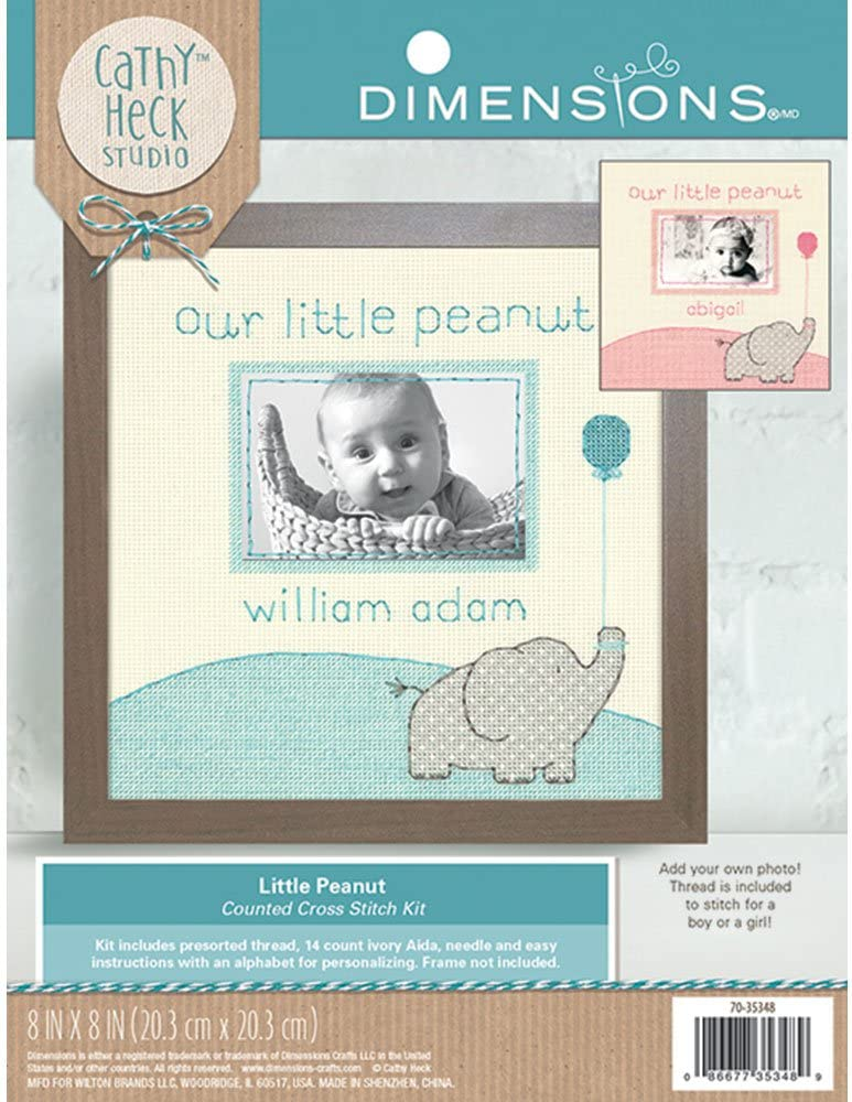 Dimensions 70-35348 Little Peanut Counted Baby Kit Philadelphia Mall Cross gift Stitch