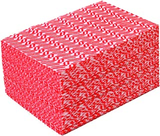 (Red,50 Count) - Jebblas Disposable Cleaning Towels Dish Towels and Dish Cloths Reusable Towels,Handy Cleaning Wipes,50 Co...