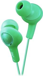 JVC HAFX5G Gumy Plus Inner Ear Headphones (Green)