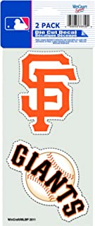 MLB San Francisco Giants 4-by-8 Die Cut Decal