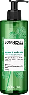 Botanicals Strengthening Shampoo without Silicone for Fine Weakened Hair with Ginger and Coriander Strengthens Hair and Re...