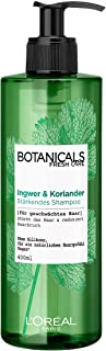 Botanicals Stärkendes Shampoo, ohne Silikon für feines geschwächtes Haar, mit Ingwer und Koriander, stärkt das Haar und reduziert Haarbruch, 1er Pack 1 x 400 ml