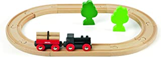 BRIO World - 33042 Little Forest Train Set   18 Piece Train Toy with Accessories and Wooden Tracks for Kids Ages 3 and Up