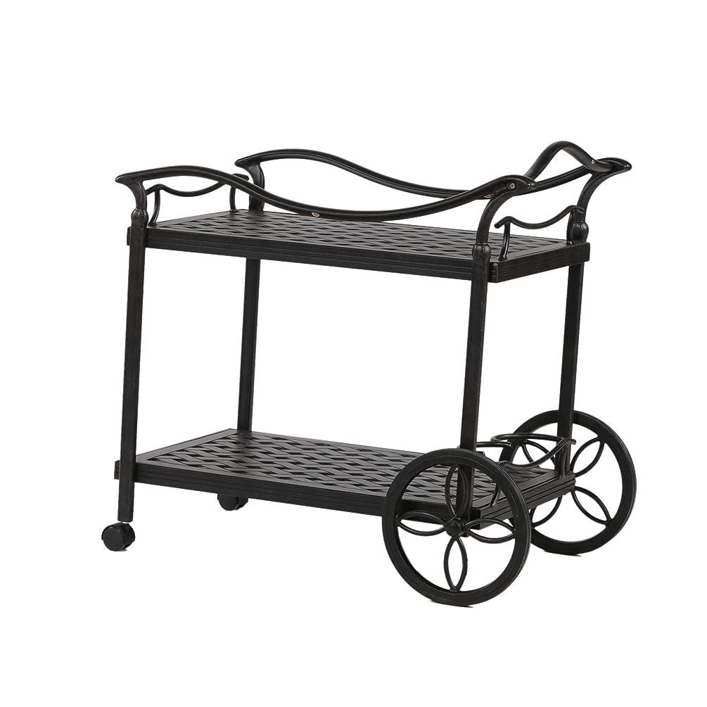 iPatio Tea Cart (Rust)
