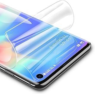 RIWNNI [3 Pezzi Pellicola Protettiva per Samsung Galaxy S10, Ultra Sottile Morbido TPU Pellicola Copertura Completa Protez...