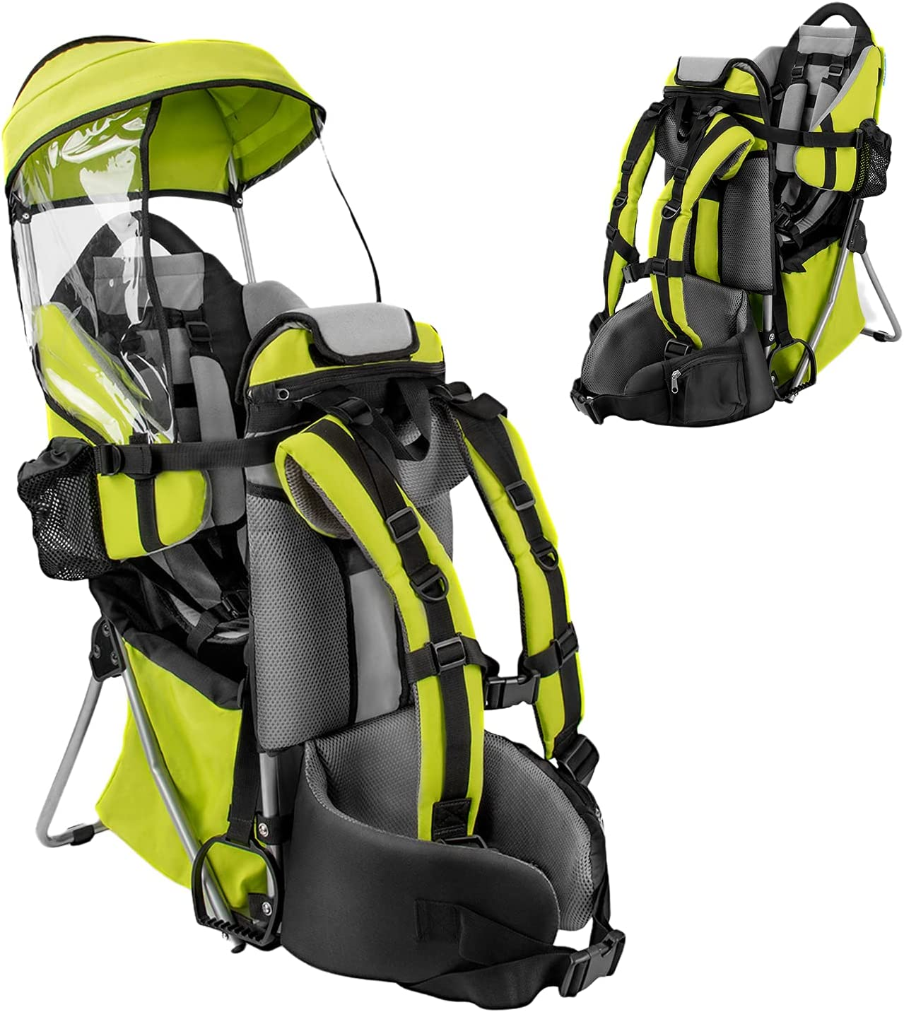 Besrey child carrier children back carriers child carriers for outdoor use Green