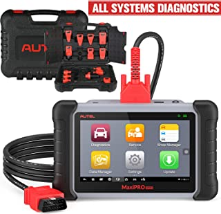 Autel Scanner MaxiPro MP808K Full System & Complete Adapter Professional OE-Level Car Diagonistic Tool with IMMO,Oil Reset,TPMS,EPB,BMS,SAS,DPF,ABS Bleed,Key Fob Programming,Same Function as DS808K