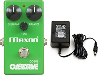 Maxon OD808 Overdrive Pedal OD-808 w/ Power Supply