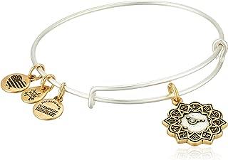 Women's Cancer Two Tone Bangle Bracelet