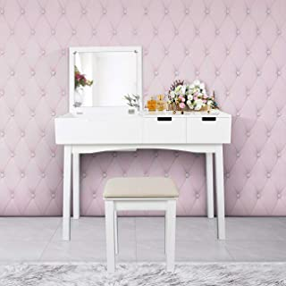 Best wooden dressing table design images Reviews