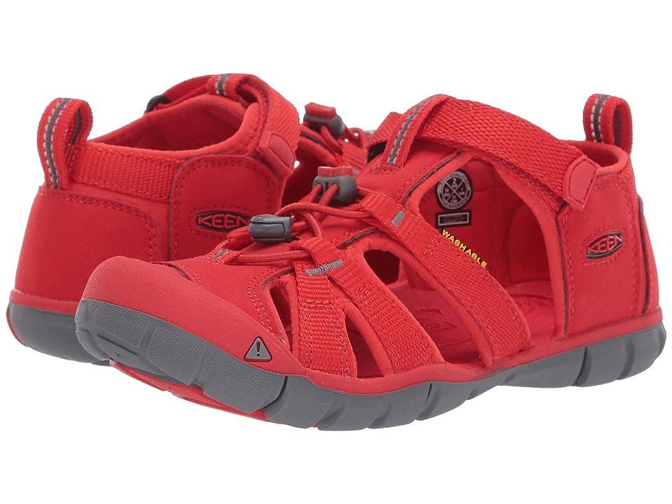 Keen Kids Seacamp II CNX (Little Kid/Big Kid) (Fiery Red) Kids Shoes
