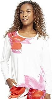 Cyberjammies 3233 Womens Harriet Burgundy Cotton /& Modal Pajama Pyjama Top