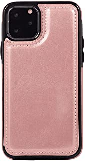 Leather Cover Compatible with Samsung Galaxy S20, pink Wallet Case for Samsung Galaxy S20