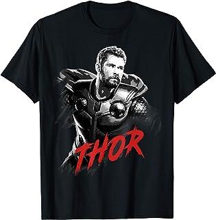 Marvel Avengers Endgame Thor Tonal Portrait T-Shirt